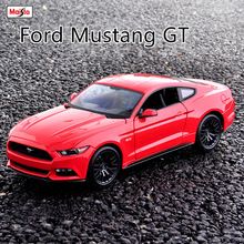 Maisto 1:18  Ford Mustang GT car alloy model simulation decoration collection gift toy Die casting boy