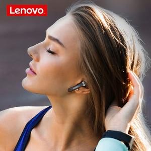 Image 3 - Lenovo QT81 Wireless Headphones TWS True Bluetooth Earphone Touch Control LED Display Big Battery 1200mAh Charging box