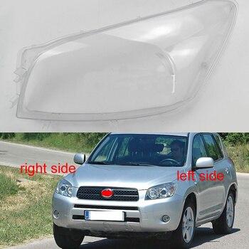 For Toyota RAV 4 RAV4 2005 2006 2007 Headlight Cover Headlamps Cover Transparent Lampshade Shell Lens Glass Lamp Shade