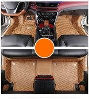 fiber leather car floor mat for geely emgrand gt 2014 2015 2016 2017 2018 2019