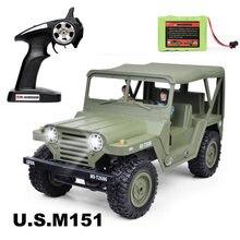 Subotech военный Радиоуправляемый автомобиль 24g армейский багги