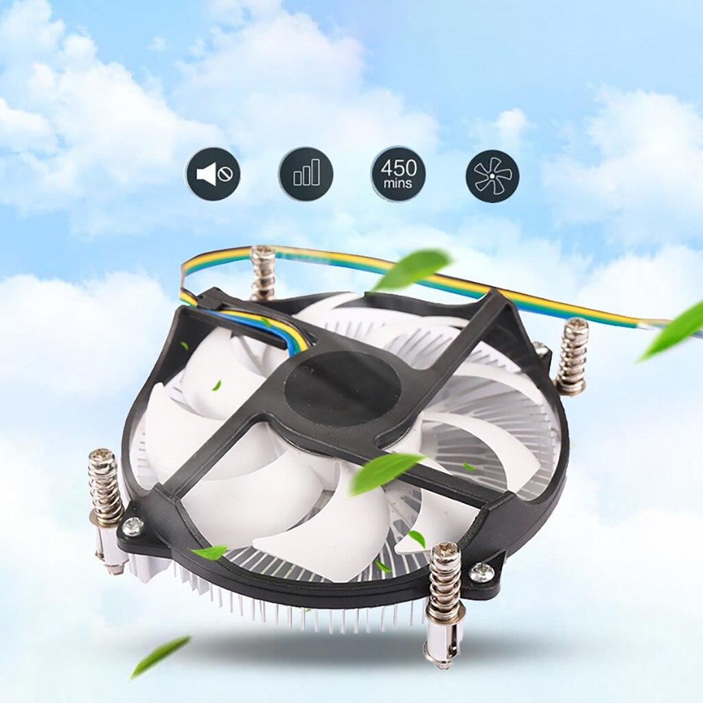 Hot sale CPU Cooling Fan 4Pin PWM PC Case Cooler Heatsink for Intel LGA 115X (I3\I5) Computer accessories Tablet Pc планшет