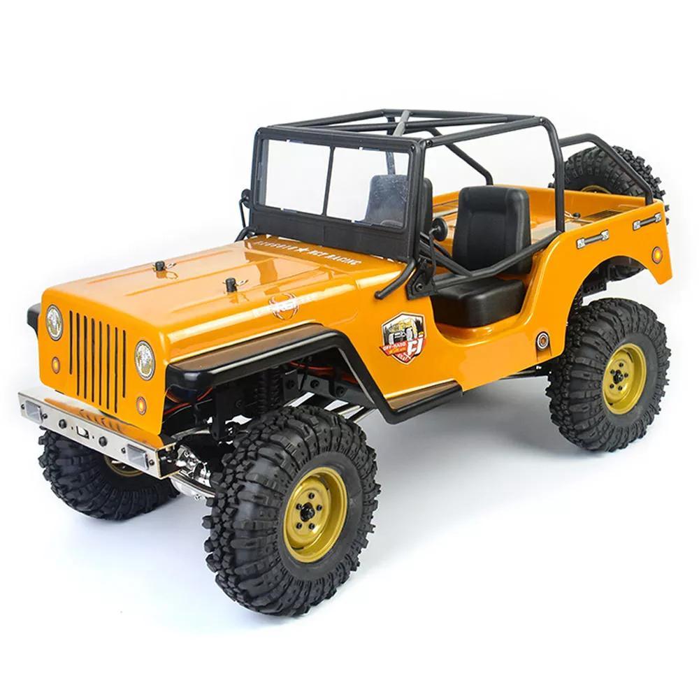 RGT EX86010-CJ 1/10 2.4G 4WD Crawler Climbing RC Car Vehicle Models