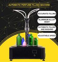 Cosmético automático pequeno da bebida da máquina de enchimento do perfume do bom desempenho com preço de fábrica
