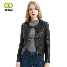 GOPLUS New Womens PU Leather Jacket Asymmetric Zip Faux Jackets Plus Size Black Pink Moto Biker Coats Leren Jas Dames
