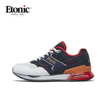 ETONIC Classic Running Shoes Men Vintage Sneakers Breathable Shockproof Sports Jogging Walking Shoes Retro Sneakers E-BOW 990