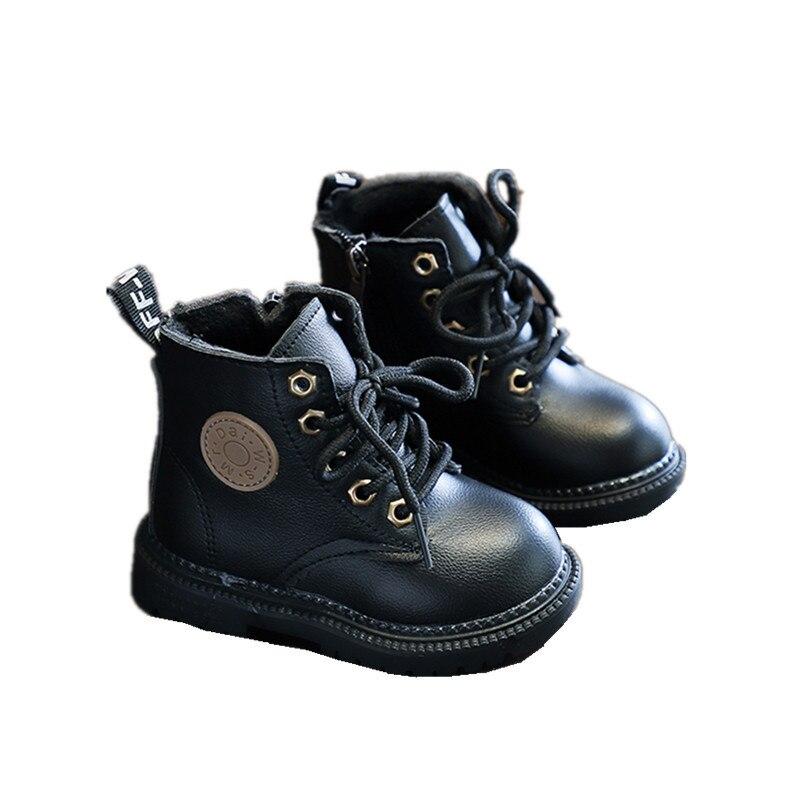 menina unisex sapatos de couro do plutonio 03