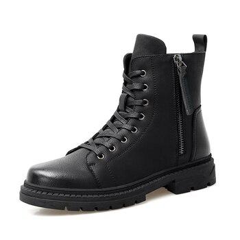 Boots Men's Brand Hot High Quality Desert Tactical Military Boots Men's Warm Shoes Men's Boots