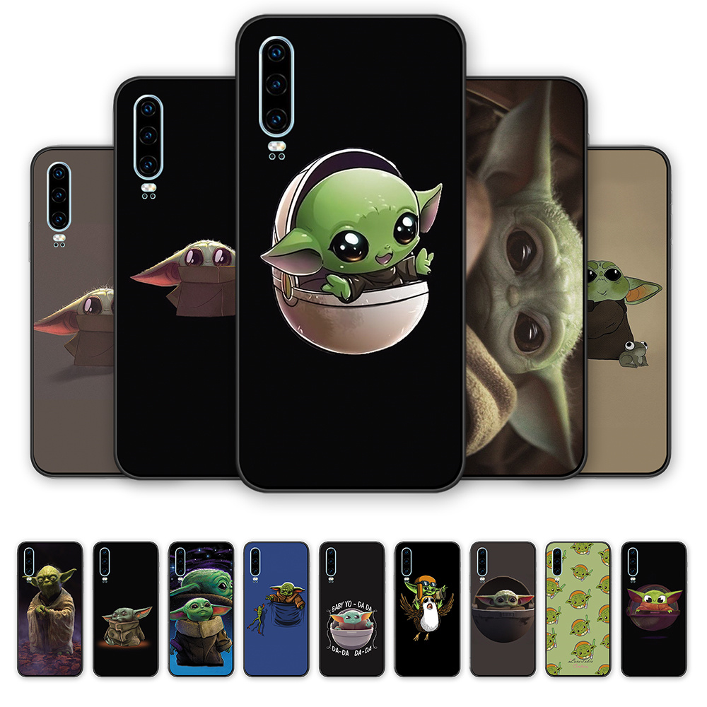 Bady yoda meme cute phone cover case silicone TPU For Huawei Honor 8 9 10 20 i lite pro 20S 9X 8C 8X V9 V10 V20 note10 play image
