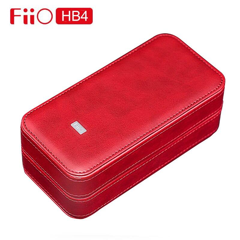 FiiO HB4 lecteur de stockage casque corticale boîte personnalisée Mini Portable étui de Protection étanche pour FA1 FH7 M5 M9 M11 Q5 x5iii K3