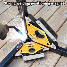 2 sztuk magnetyczne uchwyty do narożników spawalniczych pozycjoner lokalizator lutowania do spawania kąty magnetyczny uchwyt magnetyczny 25LBS