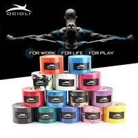 10Rolls Kinesiology Tape Muscle Sticker Supports Strain Damage Elbow Kneepad Basketball Football Badminton Kinesiology Tape
