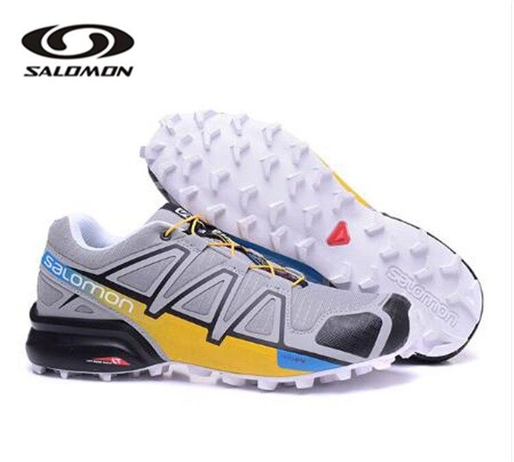 Salomon Speed Cross 4 CS chaussures de course de fond marque baskets homme chaussures de Sport athlétique SPEEDCROS chaussures d'escrime - 5