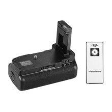 מחזיק גריפ אנכי סוללה עבור Nikon D5100 D5200 DSLR מצלמה EN EL 14 סוללה מופעל עם IR מרחוק בקרת אנכי אחיזה