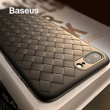 Baseus Luxury Soft Silicone Case For iPhone 7 7 Plus X Cases Ultra Thin TPU Protective Case For iPhone 8 8 Plus Coque Cover