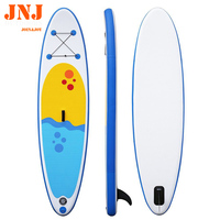 10' isup board inflatable stand up paddle board with bag