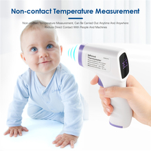 цена на IR Infrared Thermometer Temperature Measurement Digital Non-Contact Home Contact Type Temperature Tool Adult Kids Thermometer