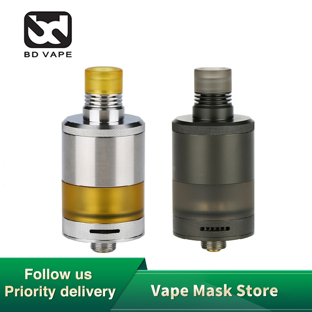 Heavengifts BDvape Precisio MTL RTA  With 2.7ml Capacity 22mm RTA Atomizer For Optimal MTL And DL Vaping Vape Tank Vs Zeus X