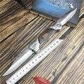 Автоматический складной нож из нержавеющей стали, острый охотничий нож для самообороны, нож для кемпинга и выживания, высокотвердый армейс...