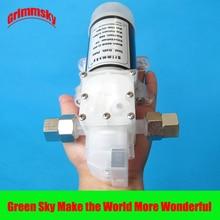 8L/Min.80W High Pressure food grade 12v diaphragm pump