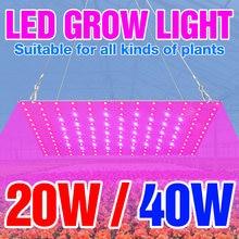 Светодиодный светильник для выращивания овощей в помещении полный