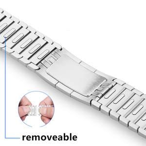Bracelet Watchband Link Metal-Strap Series Stainless-Steel 40mm 38mm for 44-Mm 42mm 5-4-3-2