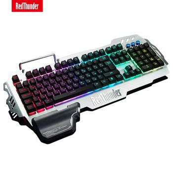 RedThunder K900 RGB Wired Gaming Keyboard 25 Keys Anti-Ghosting Mechanical Feel Ergonomics for PC Russian Spanish French 1