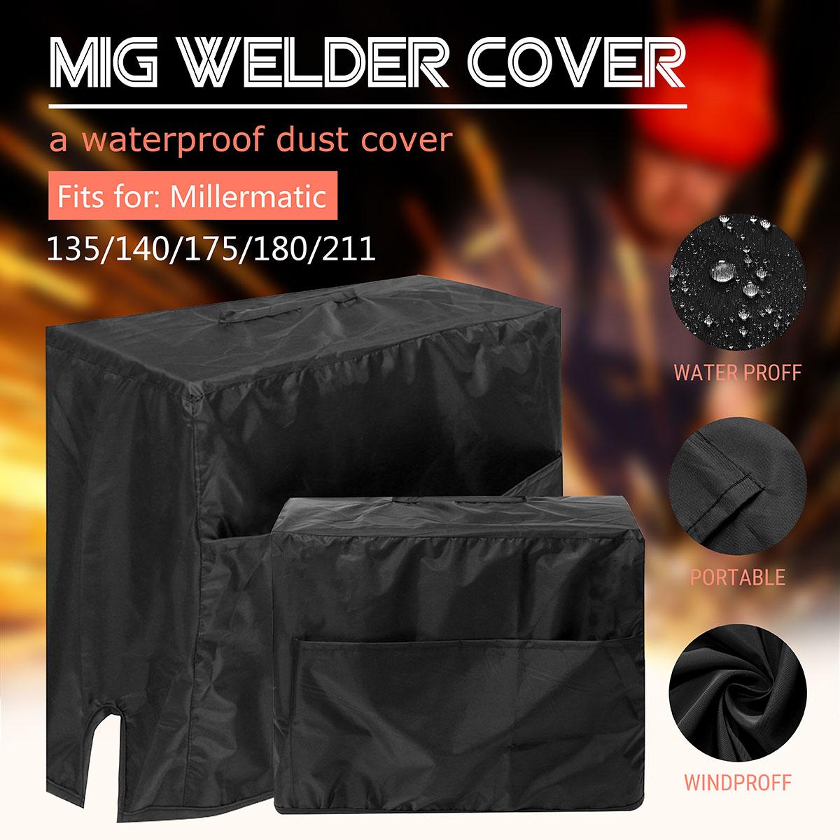 47*28*37cm Welding Machine Cover Dustproof Waterproof Protector Cloth For Millermatic 135/140/175/180/211 MIG Welding Machine