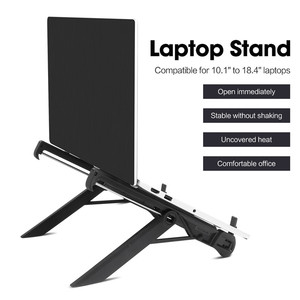 Image 2 - laptop holder monitor macbook notebook stand accessories portable base support bracket