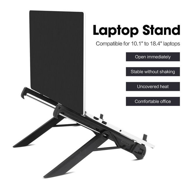 laptop holder monitor macbook notebook stand accessories portable base support bracket 1
