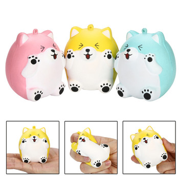 Baby Toys Squeeze Squishy Cute Bear Slow Rising Cream Scented Decompression Toys Sticky Stress Relief Funny Gift Toy 1pc cute bread squishy slow rising cream scented decompression toys squeeze squishie slow rising stress relief toy kids bl5