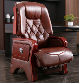 Leather boss chair home office chair back reclining massage computer chair office chair swivel chair leather boss chair home office chair back reclining massage computer chair office chair swivel chair