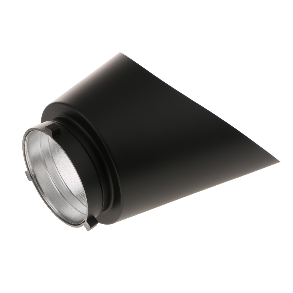 Reflector Oblique for Bowens Background Shadow Cover for Studio Portrait Art Wedding Veil Photography