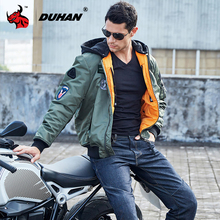 DUHAN Men Motorcycle Jacket Body Armor Winter Waterproof Motocross Riding Jacket Windproof Protective Gear Chaqueta Moto M 3XL