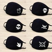 Mask For Face Protection Facial Masks flu Resuable Fabric Cotton Multiple Mascarilla Anti-spray Black Cartoon Fashion Mask 2020