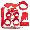 7 red BDSM set