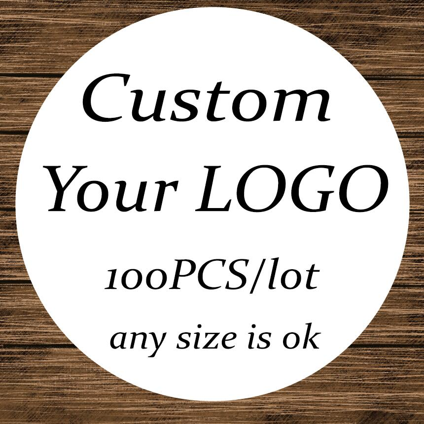 100PCS  Custom Sticker and Customized LOGO/Wedding Stickers/Design Your Own Stickers/Personalized Stickers
