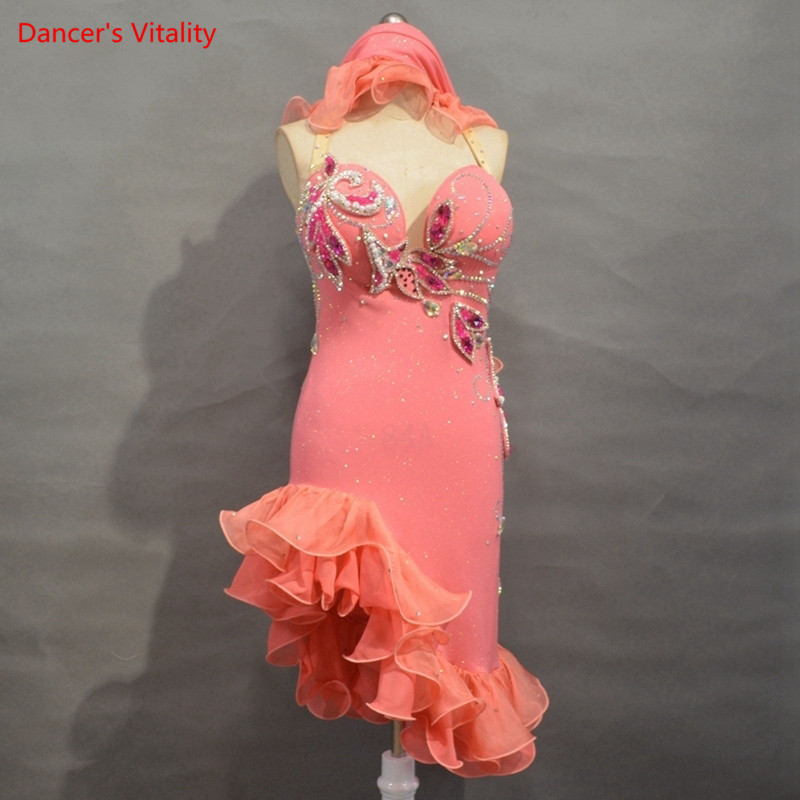 New Sexy Backless Belly Dancer Costume Set Oriental Dance Dance Performance Competition Dress Custom Other Colours