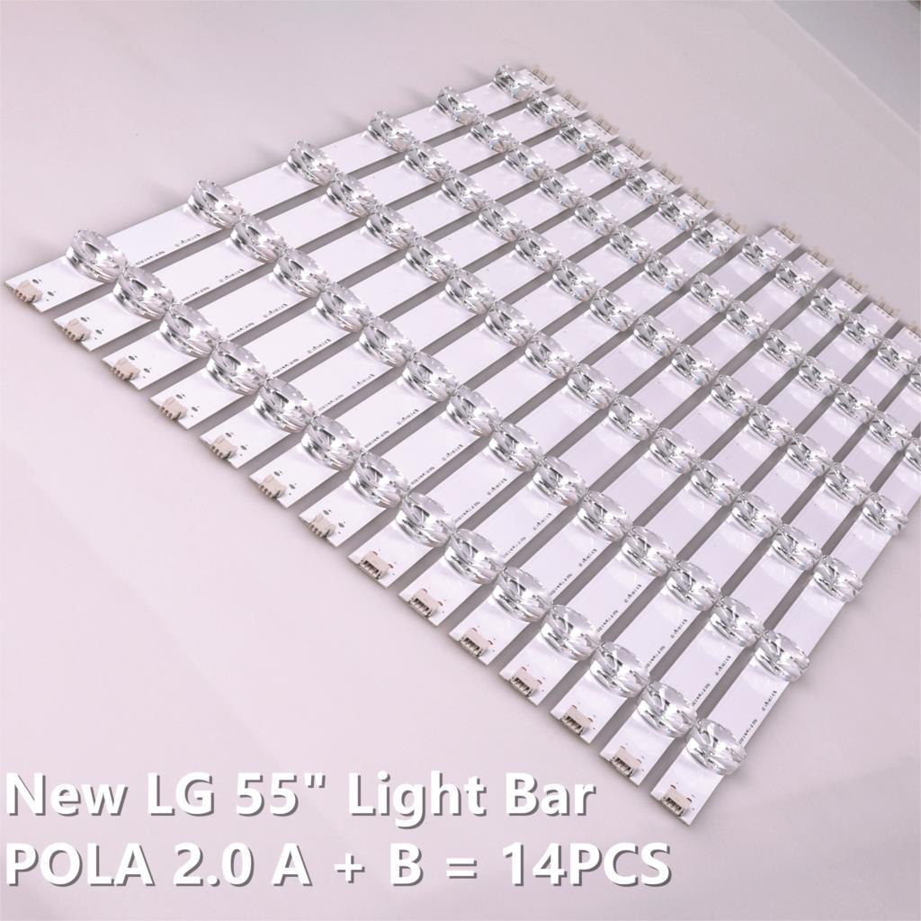 New Original 14 pçsset tira retroiluminação LED