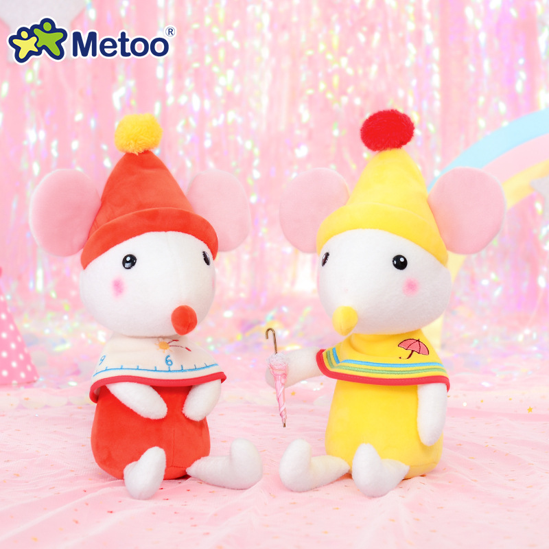38cm Mouse Metoo Doll Stuffed Toys Plush Animals Kids Toys For Girls Children Boys Kawaii Baby Plush Toys Cartoon Soft Toys