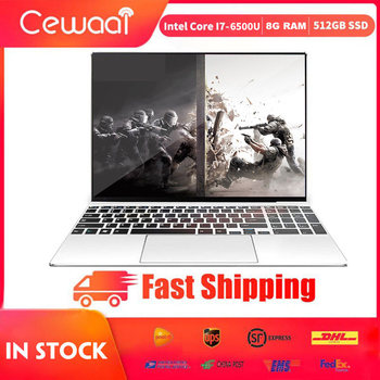 15.6 inch Laptop Intel Core i7-6500U Nvidia GT940M-2G Metal Body 8GB RAM 512GB SSD Notebook 5G WiFi HDMI USB 3.0 Type-C Gigabit