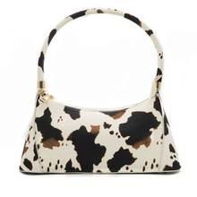 Женская сумка из ПУ кожи с принтом мультфильма через плечо для