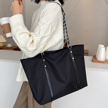 Fashion Large Capacity Nylon Women Handbags High Quality Ladies Shoulder Bags Famous Brands Female casual Tote Messenger Bags image