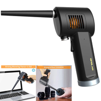 Cordless AIR Duster, Replacement for Compressed Spray Gas Cans, Rechargeable Blower for Computer, Keyboard and Electronics Clean