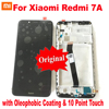 100% Original Best 10 point For Xiaomi Redmi 7A LCD Display Touch Screen Panel Digitizer Assembly Glass Sensor + Frame Pantalla