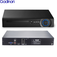 Gadinan 32CH 5MP NVR H.265 ONVIF 4K NVR DVR Video Recorder IP Camera Surveillance Security CCTV System Support 2 HDD 8TB Port