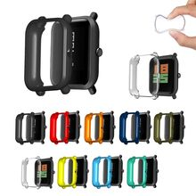 Anti-scratch Protection Case Cover Ultra-thin Full Frame Shell Protector for Huami Amazfit Bip Younth Smart Watch Accessories