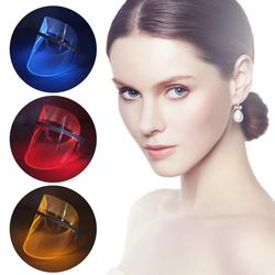 New Hot 3 Color LED Light Therapy Face Mask Beauty Instrument Facial SPA Treatment LED Beauty Device Anti Acne Wrinkle Removal