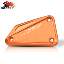 цена на For KTM 790 ADVENTURE 2019 front pump cover CNC Motorcycle Master Cylinder Front Brake Fluid Reservoir Cover Cap