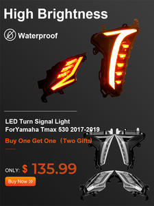 Rear-Brake-Light Led-Turn-Signal-Indicators 530-Light TMAX Yamaha for E-MARK Dx-Models